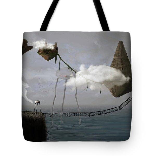 Invasion Tote Bag by Keshava Shukla