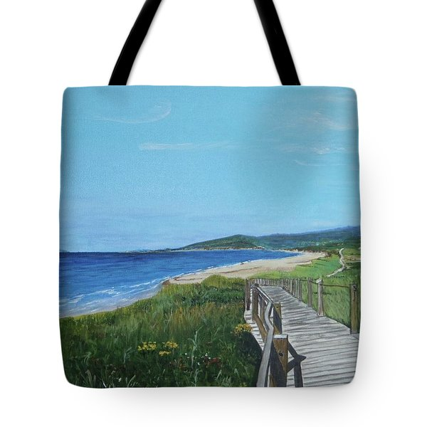 Inverness Beach Tote Bag