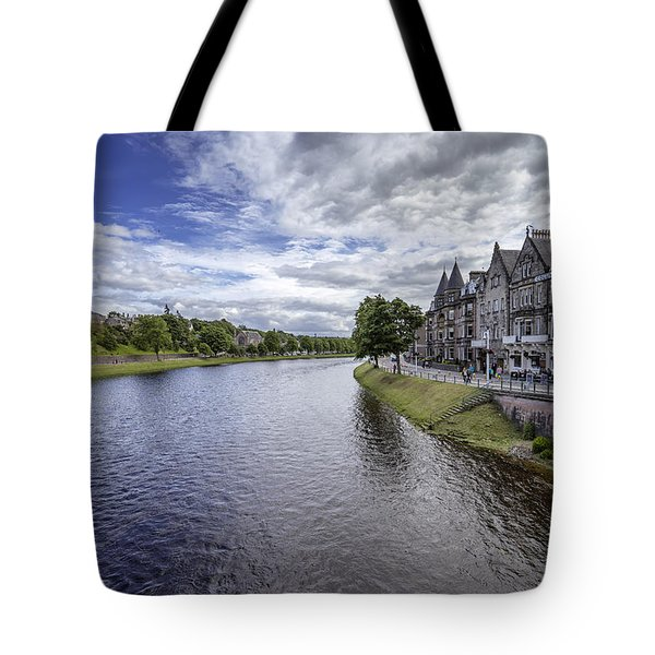 Tote Bag featuring the photograph Inverness by Jeremy Lavender Photography