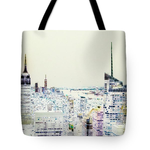 Tote Bag featuring the photograph Inversion Layer by Alex Lapidus