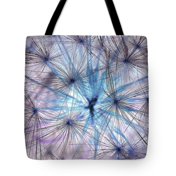 Inverted Dandelion Tote Bag