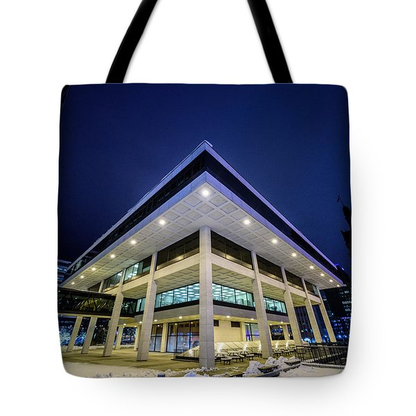 Inverted Pyramid Tote Bag by Randy Scherkenbach