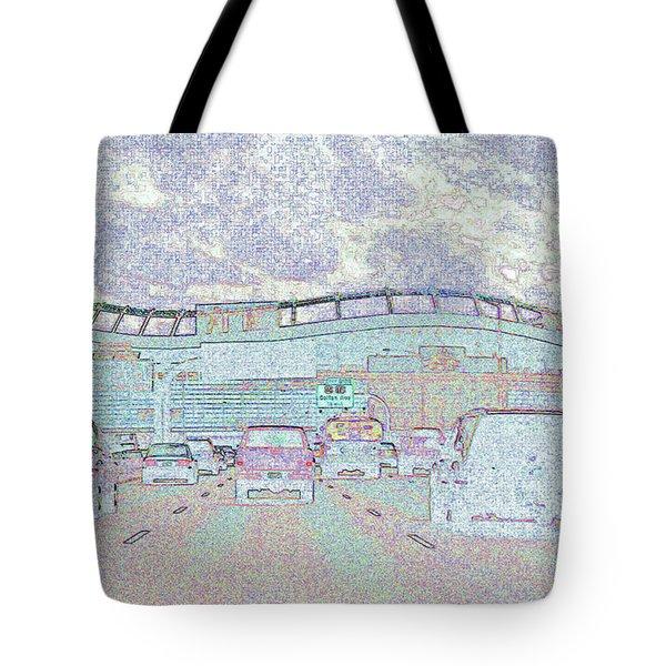 Invesco Field Tote Bag by Lenore Senior