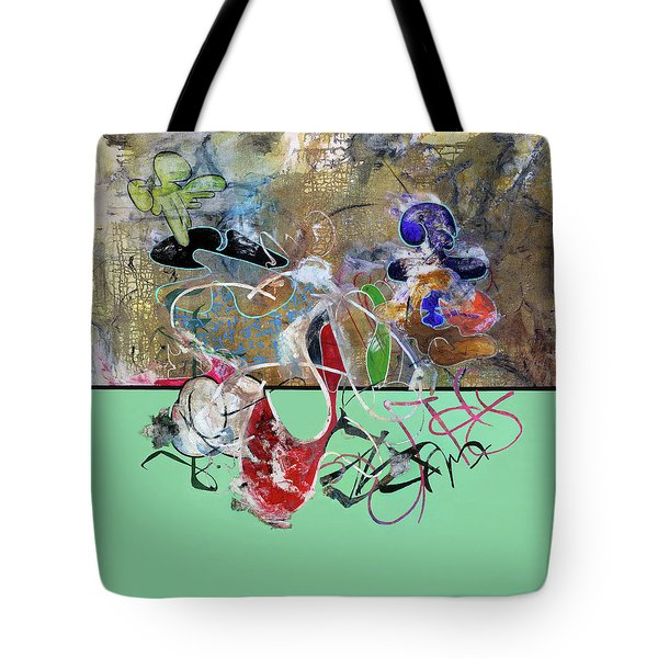 Invest In Imagination Tote Bag by Antonio Ortiz