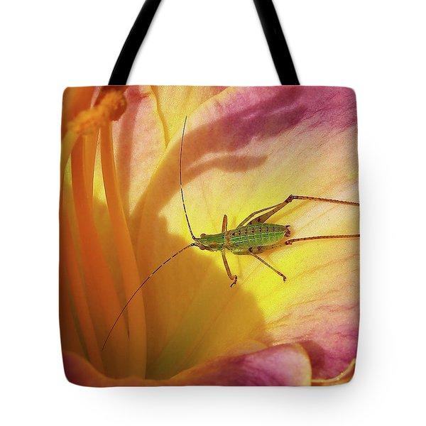 Investigating Bug Tote Bag
