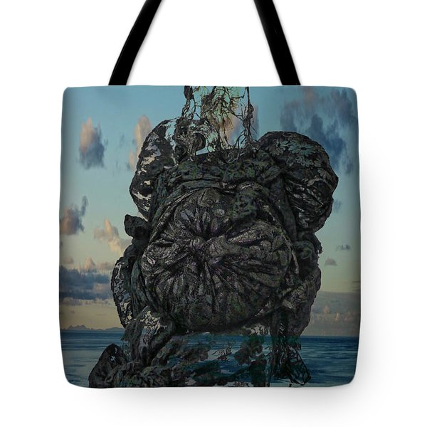 Invisable Lady Tote Bag by Joan Reese