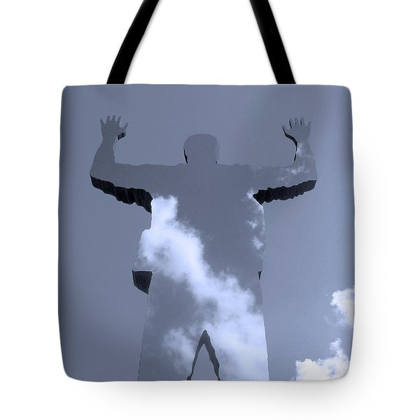 Tote Bag featuring the photograph Invisible ... by Juergen Weiss