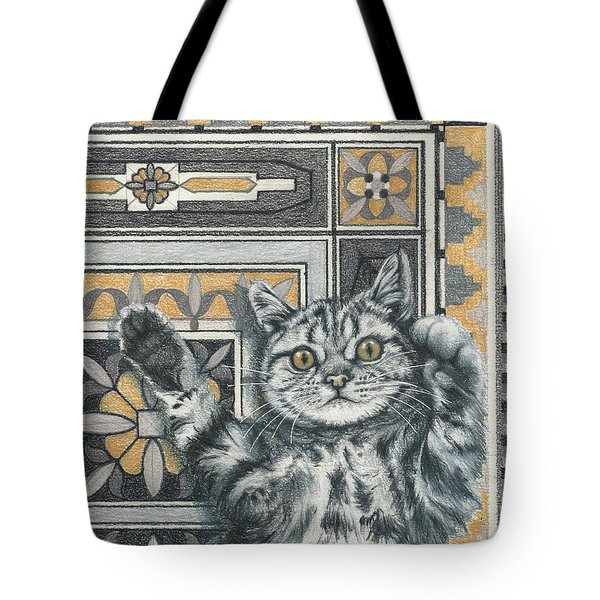 Invisible Cat Tote Bag