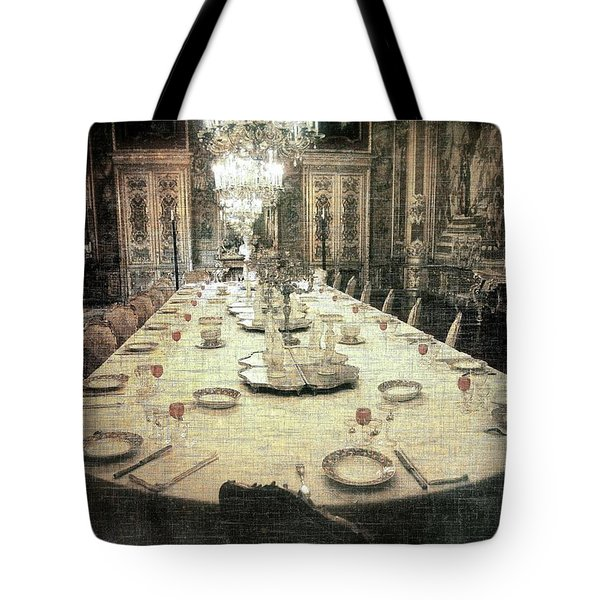 Invitation To Dinner At The Castle... Tote Bag