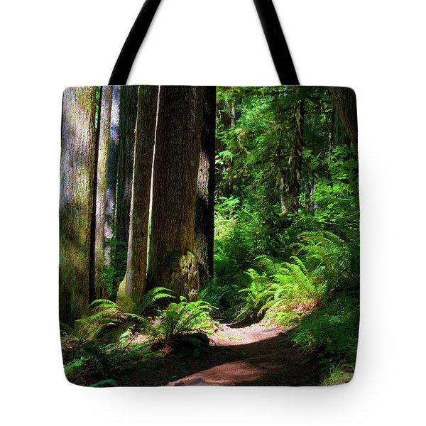 Inviting Hike Tote Bag