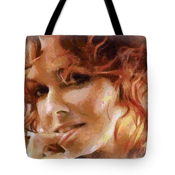 Inviting Smile Tote Bag by Gun Legler