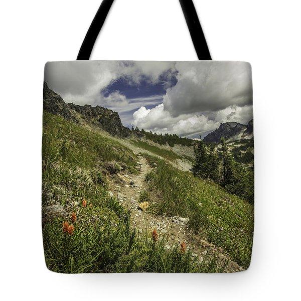 Inviting Trail Tote Bag