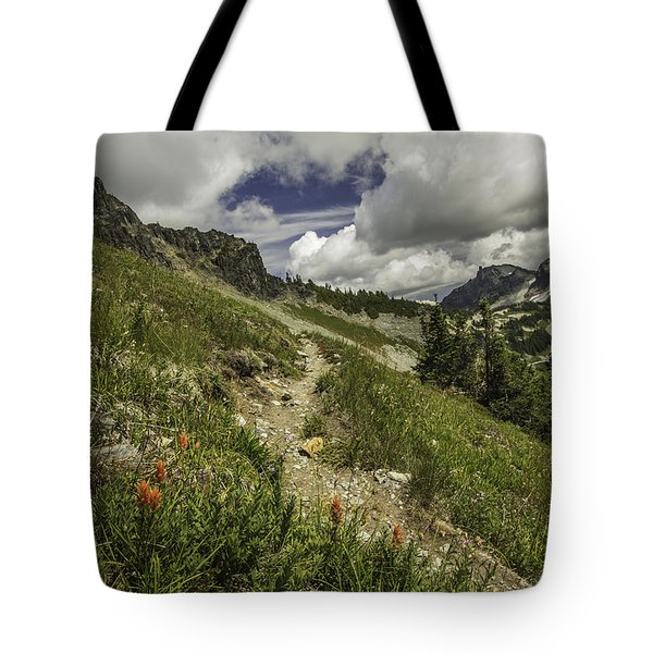 Inviting Trail Tote Bag