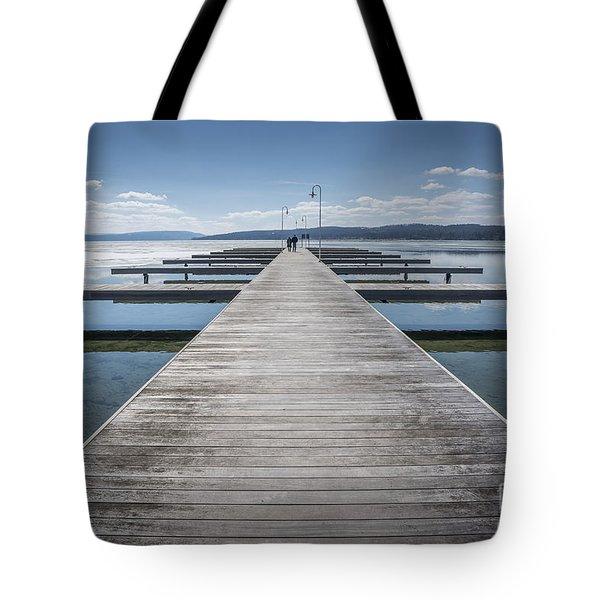 Inviting Walk Tote Bag