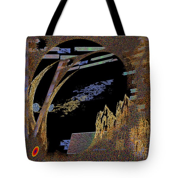 Tote Bag featuring the digital art Inw_20a5580_hoofed by Kateri Starczewski