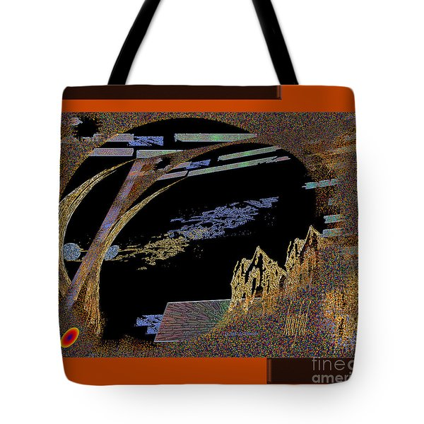 Tote Bag featuring the digital art Inw_20a5581_hoofed by Kateri Starczewski