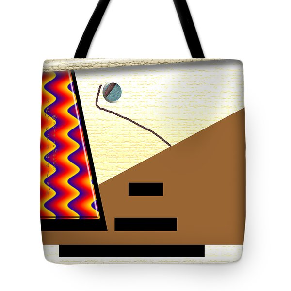 Tote Bag featuring the digital art Inw_20a6143_rendezvous by Kateri Starczewski