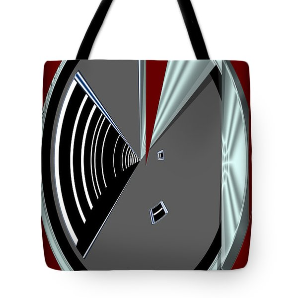 Tote Bag featuring the digital art Inw_20a6470_wink by Kateri Starczewski