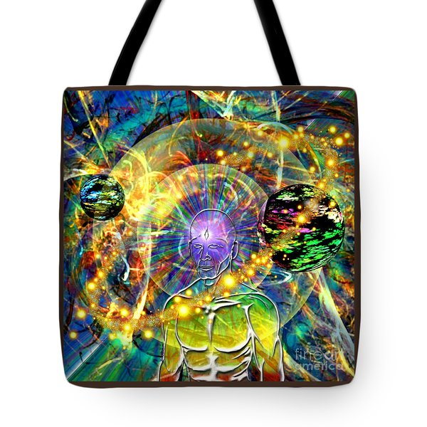 Inward Exploration Tote Bag