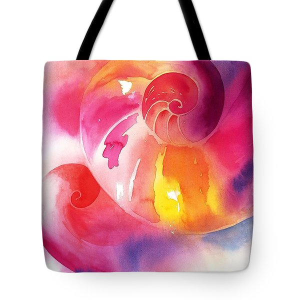 Inward Journey Tote Bag by Tara Moorman