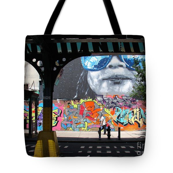 Inwood Street Art  Tote Bag by Cole Thompson