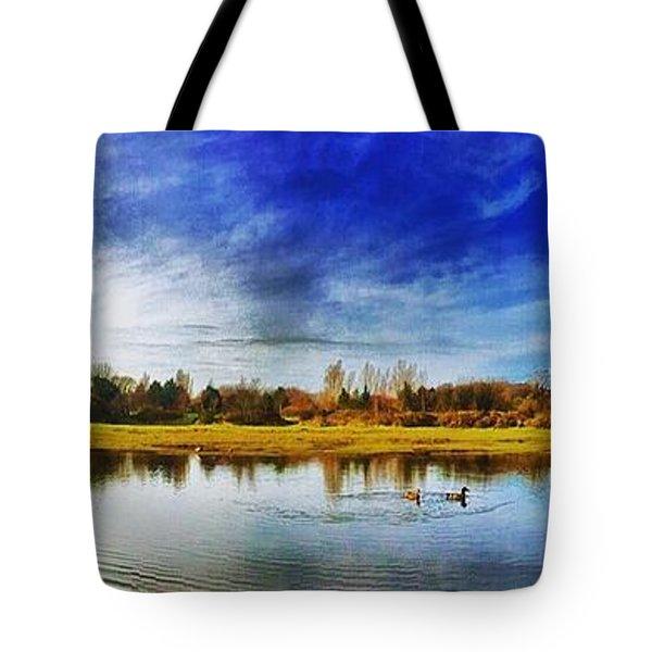 I.o.m Sulby River Tote Bag