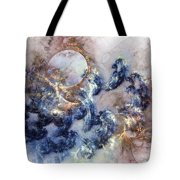 Ion Storm Tote Bag by Casey Kotas