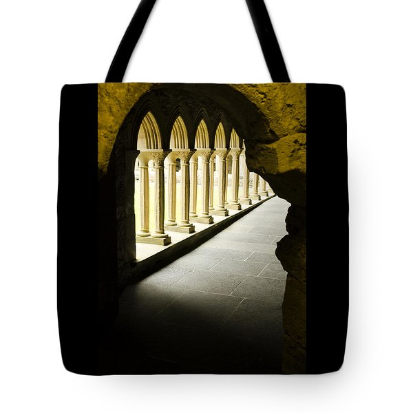 Iona Abbey Scotdland Tote Bag