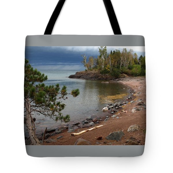 Tote Bag featuring the photograph Iona's Beach by James Peterson