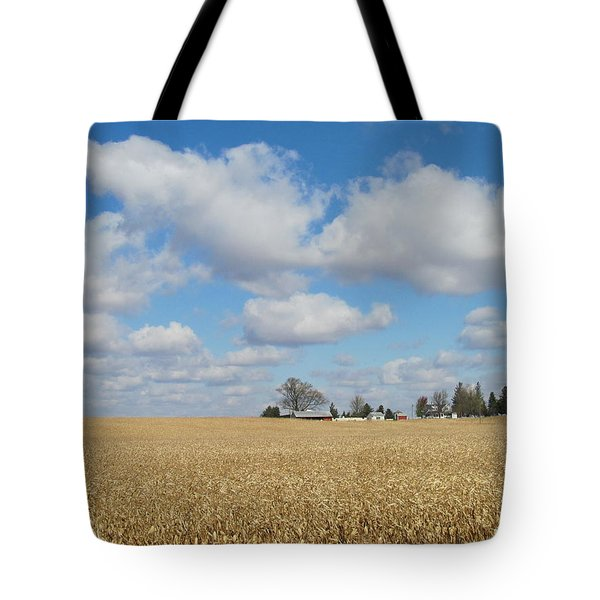 Iowa 3 Tote Bag