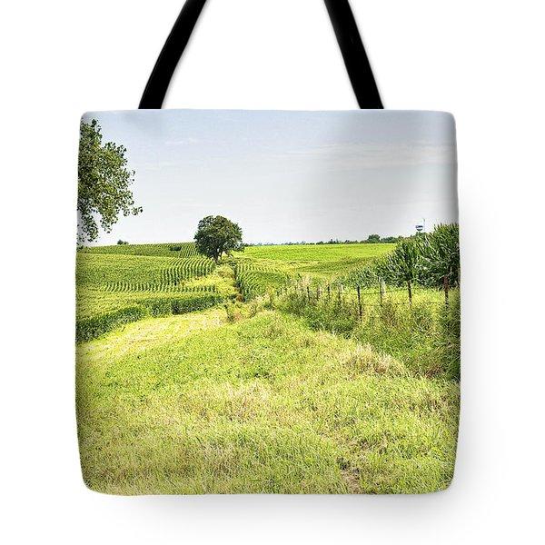 Iowa Corn Field Tote Bag