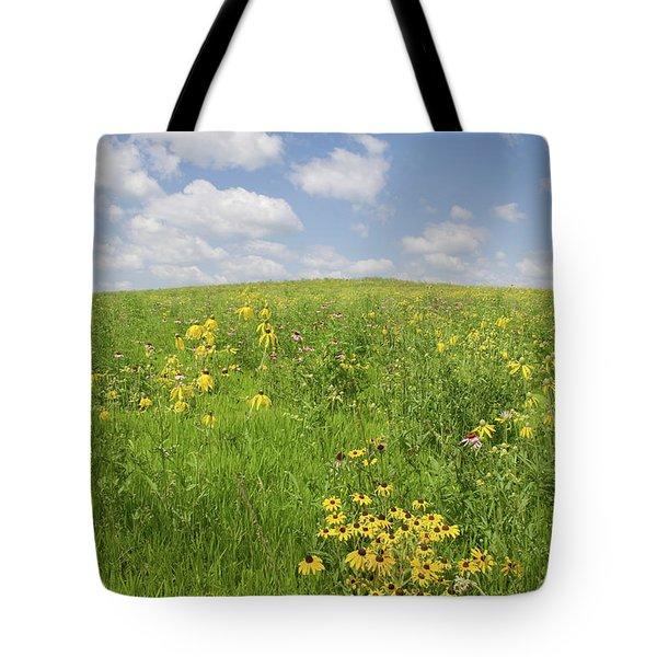 Iowa Summer Flowers I Tote Bag