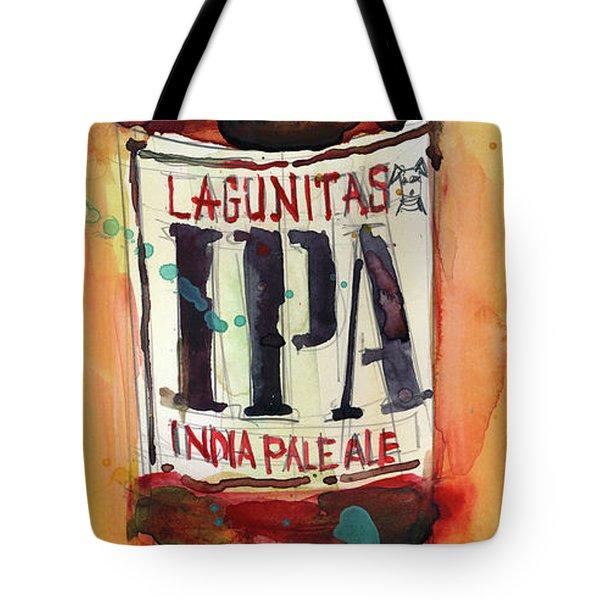 Ipa Lagunitas Beer Art Tote Bag