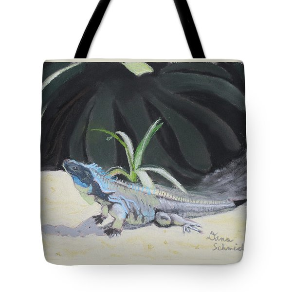 Iquana Lizard At Sarasota Jungle Tote Bag
