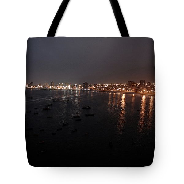Iquique Harbor Chile Tote Bag
