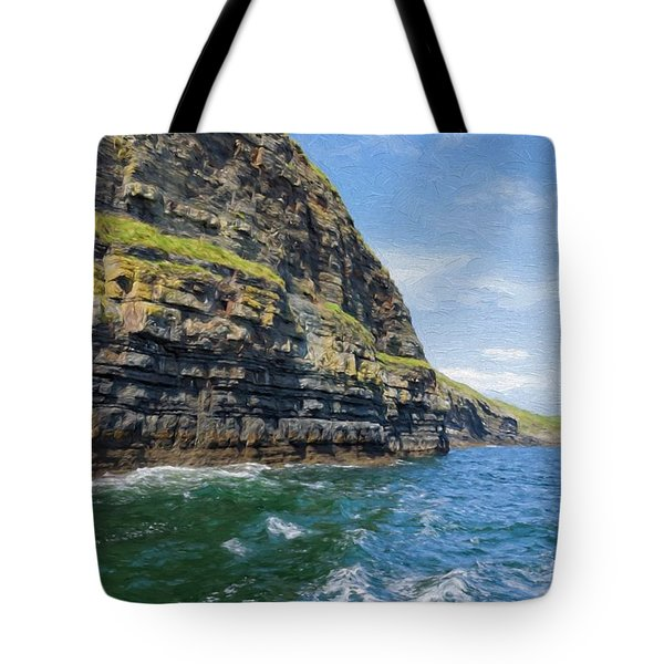 Ireland Cliffs Tote Bag