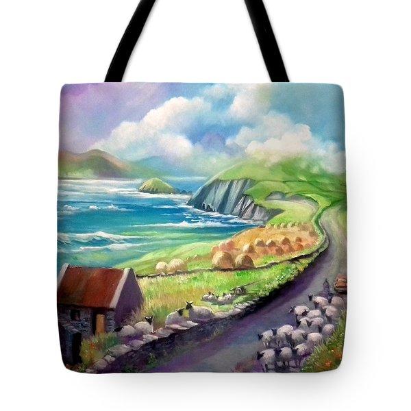 Ireland Co Kerry Tote Bag by Paul Weerasekera