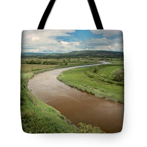 Ireland River Tote Bag
