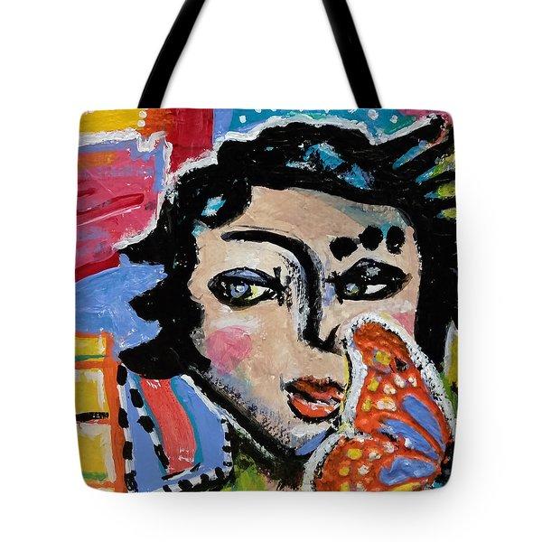 Irene - Vivid Vixen 9 Tote Bag