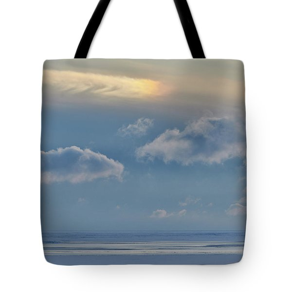 Iridescence Horizon Tote Bag