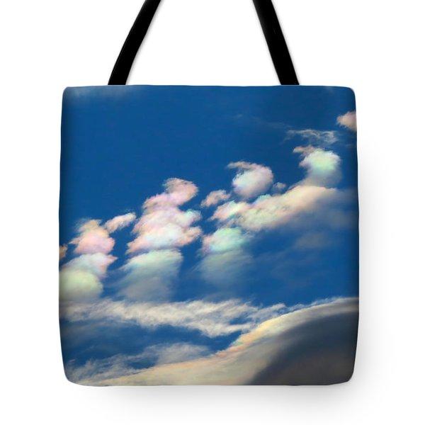 Iridescent Clouds 2 Tote Bag