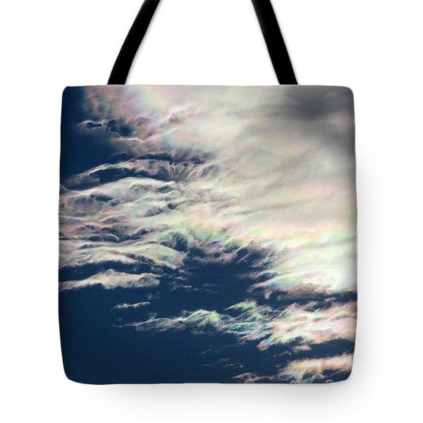 Iridescent Clouds 3 Tote Bag
