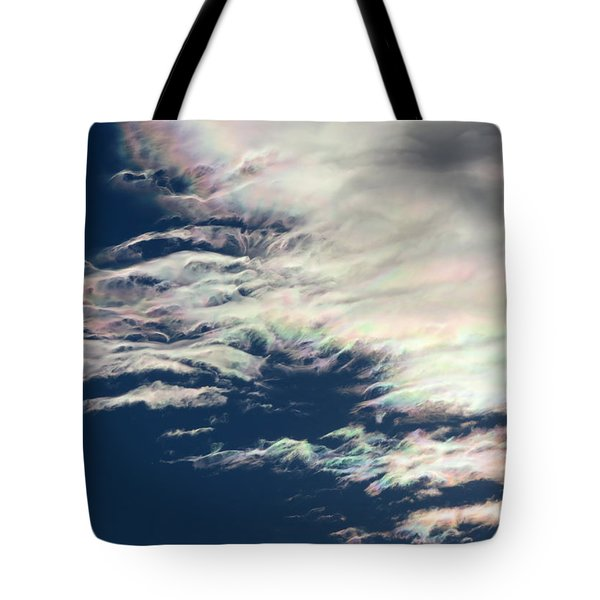 Iridescent Clouds 3 Tote Bag