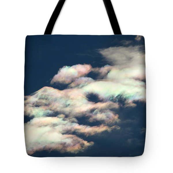 Iridescent Clouds Tote Bag