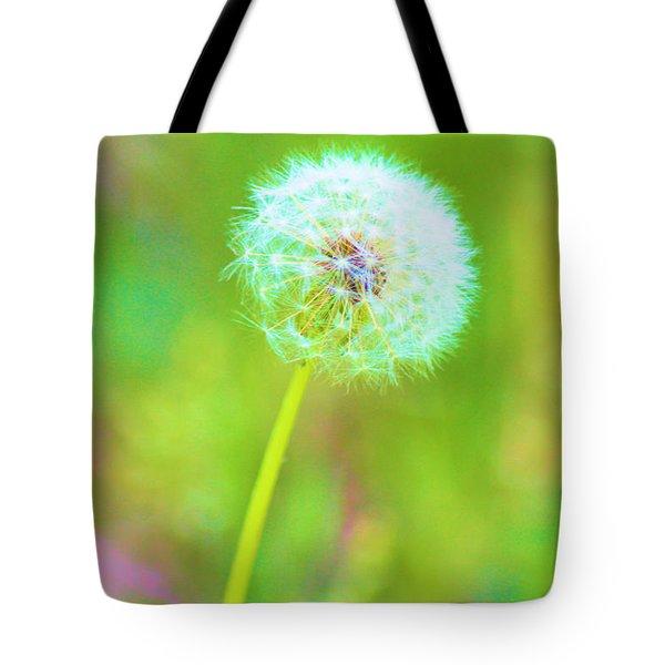 Iridescent Glow Tote Bag