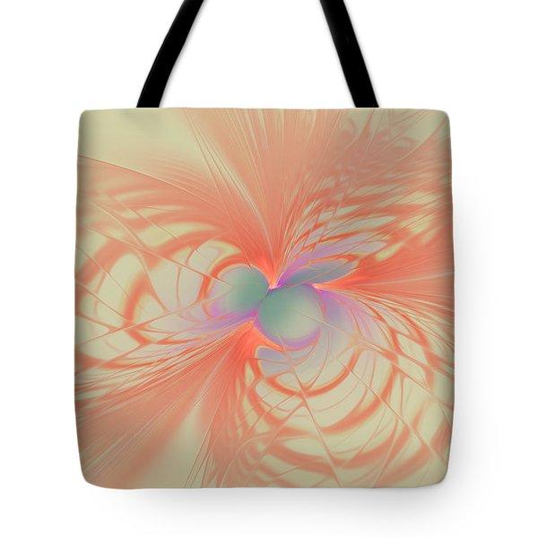 Iridescent Pink Tote Bag