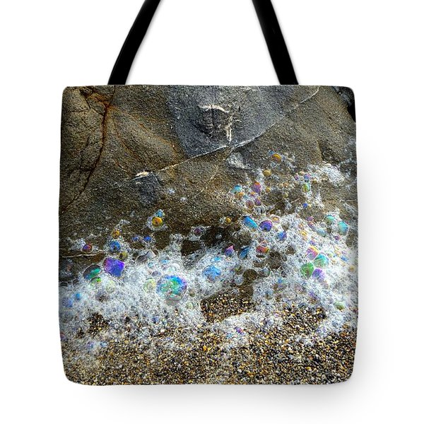 Iridescent Seafoam Necklace Tote Bag