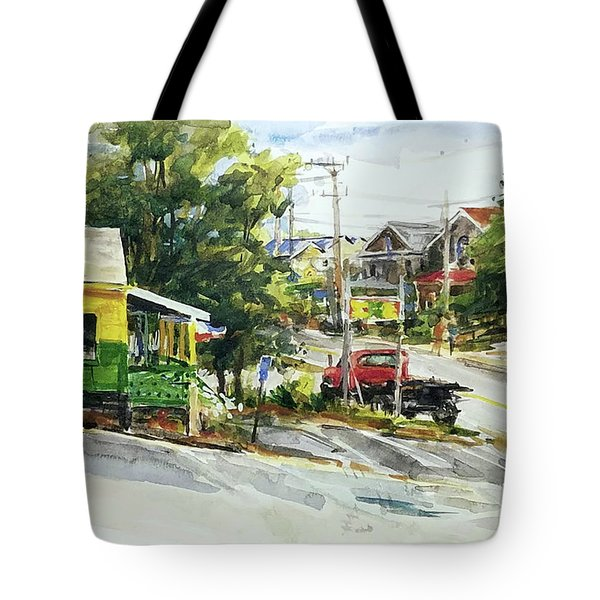 Irie Eats, Provincetown Tote Bag by Peter Salwen