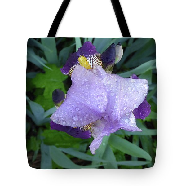 Iris After The Rain IIi Tote Bag