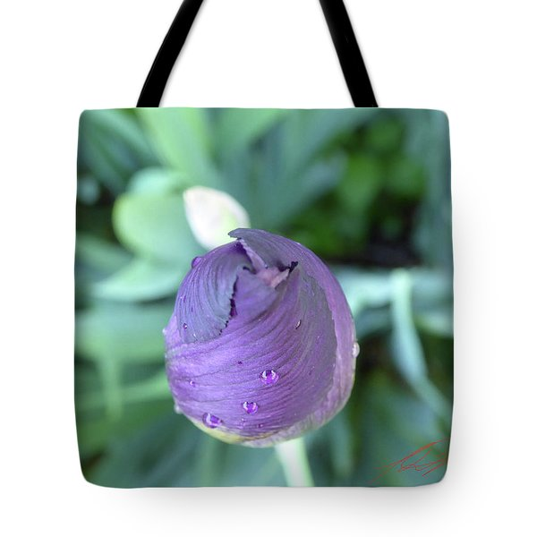 Iris After The Rain V Tote Bag